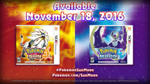 Pokemon Sun and Moon Starters And Release Date Revealed!!!!!