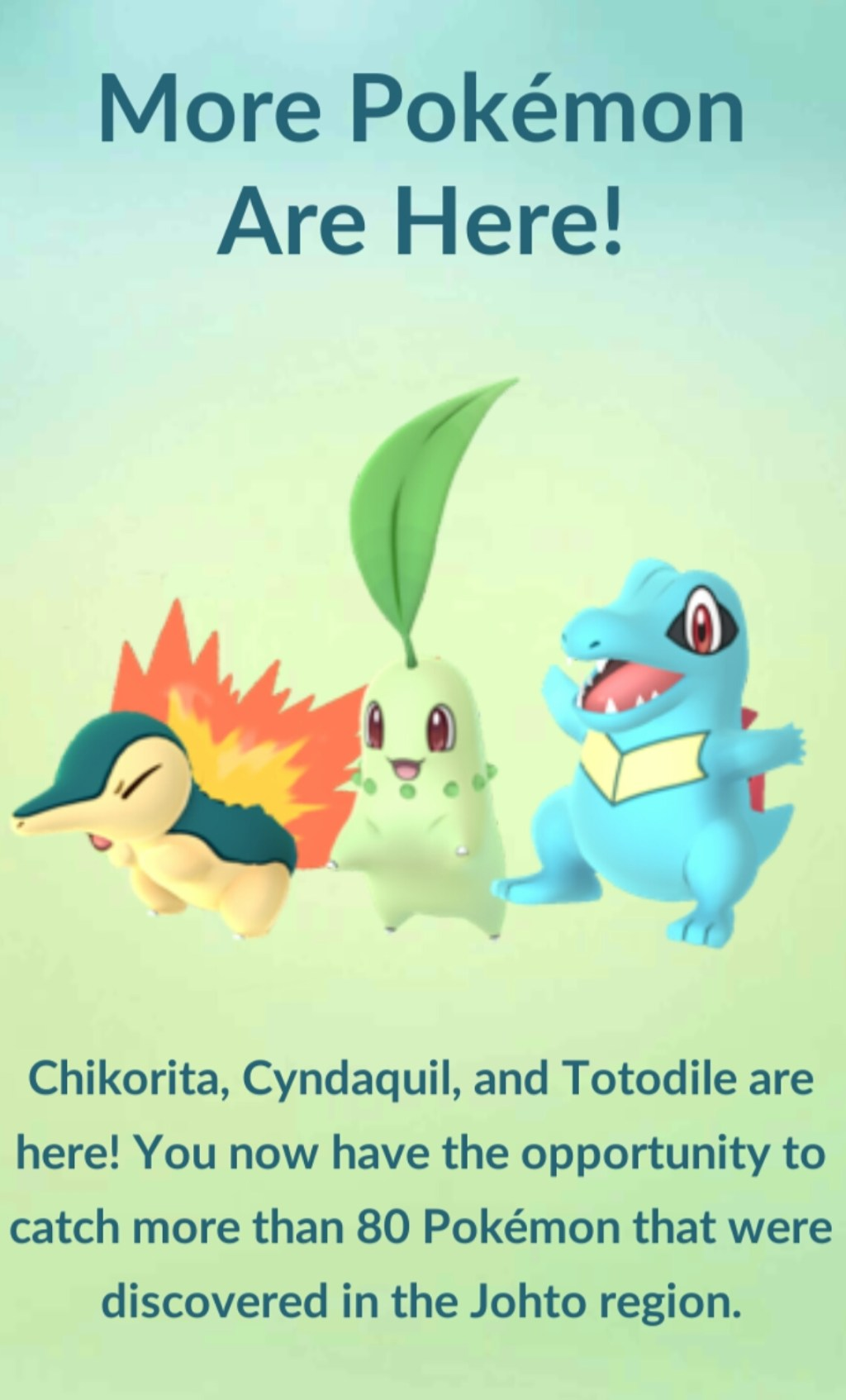 Every New Pokemon Added To The Johto Pokemon Go Update |
