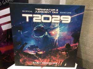 GenCon First Look At Terminator 2 Board Game