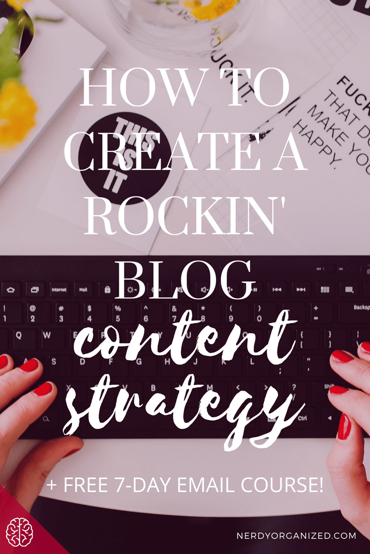 Blog Content Strategy Free Email Course for Bloggers