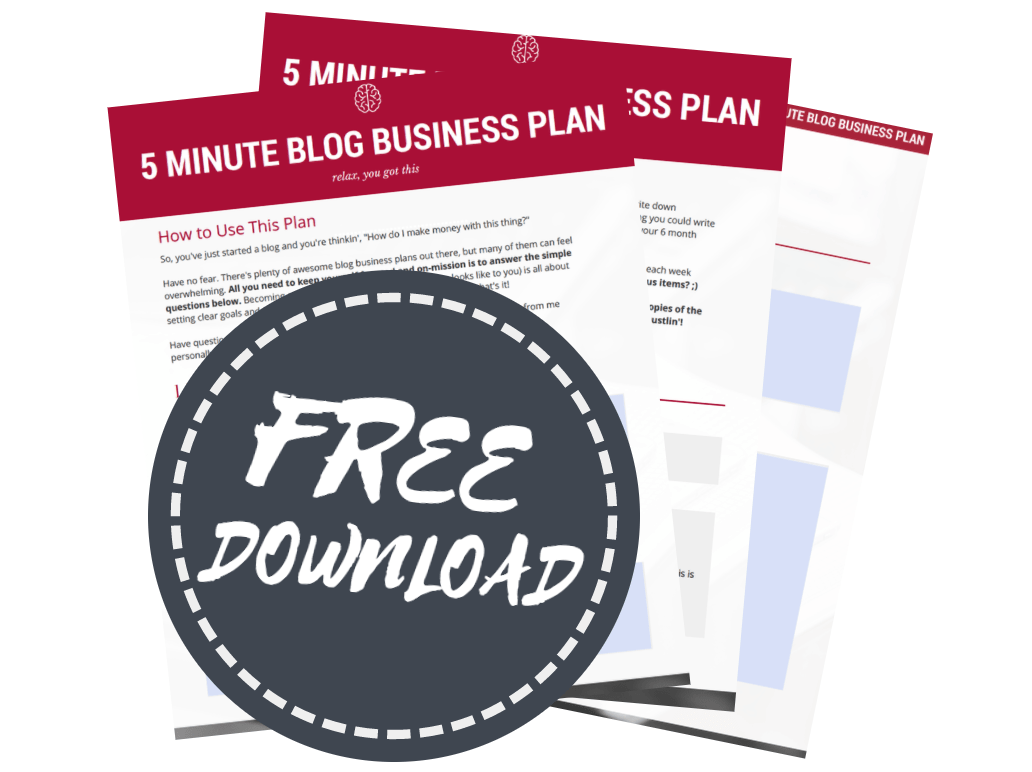 grow a successful blog with this simple strategic plan to conquer your goals