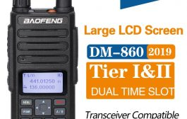 Baofeng DM-1801 digital dual-channel walkie-talkie DMR Tier1 Tier2 Tier II Dual time slot digital radio Compatible with Motorola DM-860