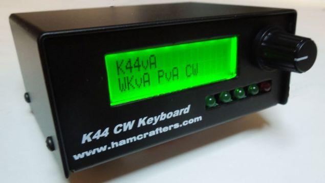 K44 CW Keyer & Reader w/Keyboard I/F by K1EL - Nerfd net