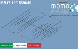 Momobeam MB17 10/15/20/40 m – Yagi Antenna