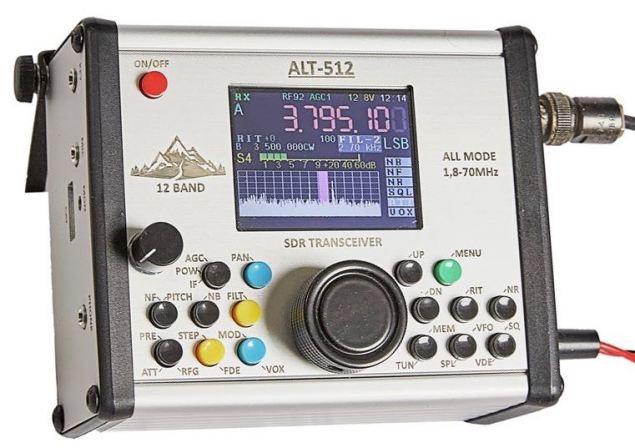ALT-512 QRP TRANSCEIVER - Nerfd net - RF News & Info