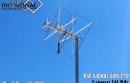 Dual-band V-UHF Quad Antennas