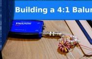 Building a 4:1 balun