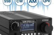 XIEGU G1M HF TRANSCEIVER   QUAD BAND   PORTABLE SDR   QRP   5W SSB CW AW
