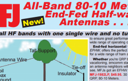 All-Band 80-10 Meter End-Fed Half-wave Antennas – MFJ 1982,1984