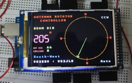 Arduino Mega2560 based Antenna Rotator Controller