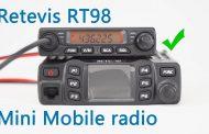 Retevis RT98, the mini mobile radio show