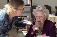 Anna Brummer, N2FER, Feted on her 105th Birthday