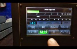EB104 HF Power Amplifier – 2,4KW water cooling system 5″ LCD touch screen for N0JSN