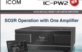 IC-PW2 Prototypes Shown at Tokyo Hamfair 2019