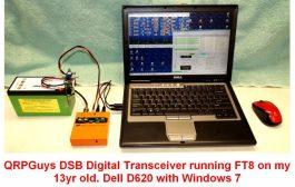 QRPGuys 40/30/20m DSB Digital Transceiver – $40