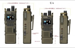 The First Portable Built-in Camera – U4 Digital & Analog 5w 30-88MHz Wide Low Band Portable Radio