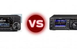 Icom IC-7300 vs Yaesu FT-991 80m SSB Comparison