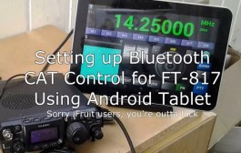 Yaesu FT817 CAT Control Setup & BT Remote Control | Android