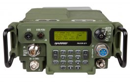 L3Harris Falcon III® AN/PRC-117G(V)1(C) Multiband Networking Manpack Radio