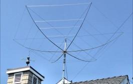 Broadband K4KIO Hex-Beam