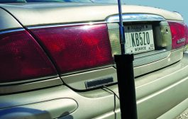 The MFJ-1669 40-10 Meter Mobile Antenna with built-in Auto Tuner