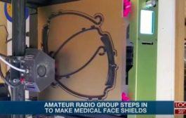 Amateur Radio Association of Nebraska 3D print face shields for healthcare workers