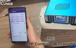 Ailunce HS2 SDR Transceiver APP Control CW Transmit via Bluethooth