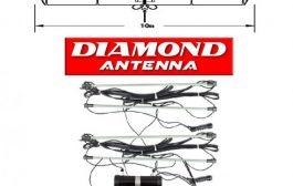 DIAMOND WD 330S a T2FD Short Antenna 2 – 30MHz