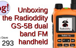 Unboxing the Radioddity GS-5B Dual Band FM Handheld