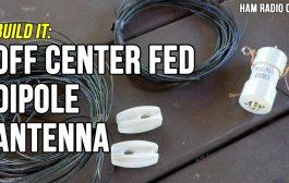 Off Center Fed Dipole (OCF) Antenna
