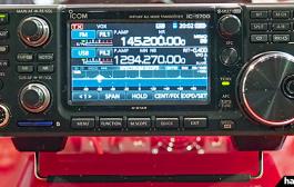 ICOM IC-9700 – DEMONSTRATION DURING HAM FAIR 2018