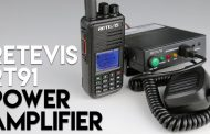 Increase Your Two Way Radio's Power With The Retevis RT91! 30 Watt Amplifier
