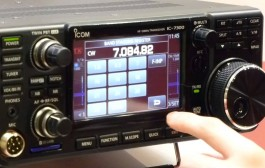 Icom's first Software-Defined Radio (SDR) HF Transceiver –  IC-7300 in action with ML&S