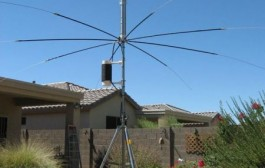 The Antenna SA-680HP covers 10 through 80 meters