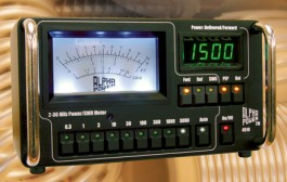 Alpha 4510A 3KW Wattmeter with 160M to 6M coverage