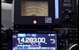 ICOM IC-7300 analogue {analog} s-meter prototype testing