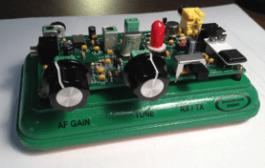 """The """"Splinter II"""" QRPp Receiver / Transmitter"""