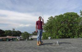 Ham Radio HT Antenna Range Test, Diamond SRH770S