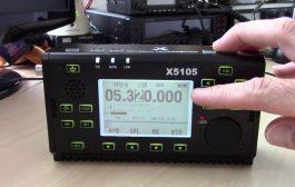 Walkie Talkie QRP QSO with XIEGU X5105