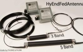 HyEndFed 5 band 80/40/20/15/10 Antenna