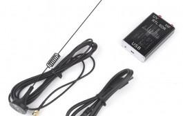 100KHz-1.7GHz Full Band UV HF RTL-SDR USB Tuner Receiver/ R820T+8232