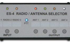 ES-4 Radio / Antenna Selector Switch between 3 radios and 5 antennas