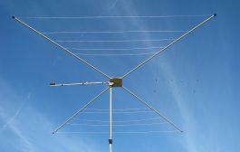 Antenna 1/2-wave, 5-Band HF Cobweb Antenna – MFJ-1835 Time Lapse Video