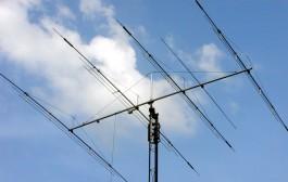 Yagi Antenna  4 antenna elements 5 bands