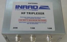 Inrad HF Triplexer