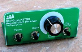 QRPGuys K8TND Regenerative Receiver – $40