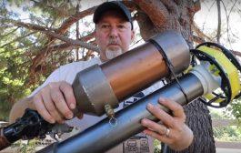 Freedom Cannon The Most Insane Ham Radio Antenna Launcher Ever | K6UDA Radio