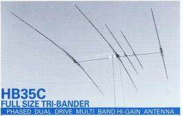5 element TRI-BANDER  – HB35c – Tet Emtron