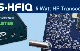 Five-Watt SDR Transciever for Hams – RS-HFIQ 5W Software Defined Radio