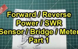 How To Build An SWR / Relative Power Bridge – Part 1